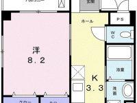 2020年1月中旬入居可能予定★エアコン、オートロック付! 3階 間取り図