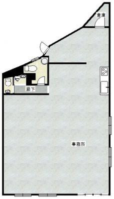 知花アパート 間取り図