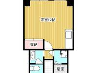 壺川駅徒歩5分の駅近、バストイレ別、リフォーム済みのお部屋です! 5階 間取り図