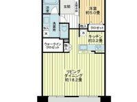 築3年!開放感のある広々LDKからは海も望めますよ★分譲マンションの一室です♪ 11階 間取り図
