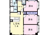 ファミリー世帯にオススメ!!広々としたリビングで家族ダンランな空間を作りましょう 3階 間取り図