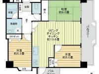 アパートマンション 6階 間取り図