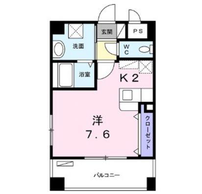 那覇市長田の賃貸アパートマンション 間取り図