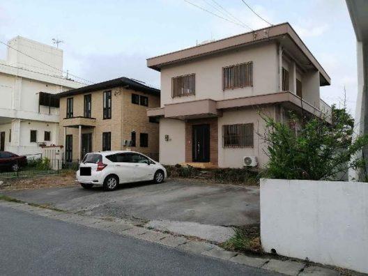 中城村南上原の戸建住宅