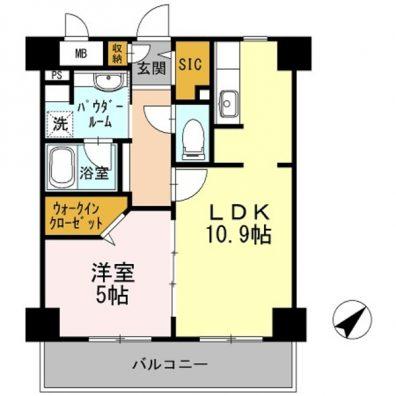 Habitation Daiwa 間取り図