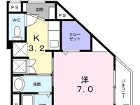 7月中旬入居可能です!嬉しいインターネット無料☆330号線や奥武山公園駅近く交通アクセス便利ですよ♪ 間取り図