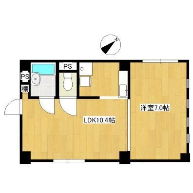 Villa IRIS 間取り図