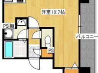 お家賃1ヶ月分フリーレントになりました!!モノレール美栄橋駅まで徒歩5分!ドン・キホーテ、マックスバリュが近く車がなくても安心です♪ 7階 間取り図