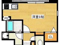 お家賃1ヶ月分フリーレントになりました!!モノレール美栄橋駅まで徒歩5分!ドン・キホーテ、マックスバリュが近く車がなくても安心です♪ 6階 間取り図
