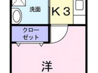 アパートマンション 4階 間取り図